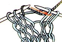 вязание для леворуких прибавление петель