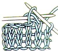 вязание для леворуких закрытие петель