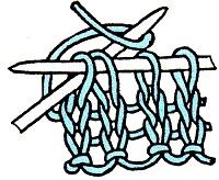 вязание для леворуких убавление петель