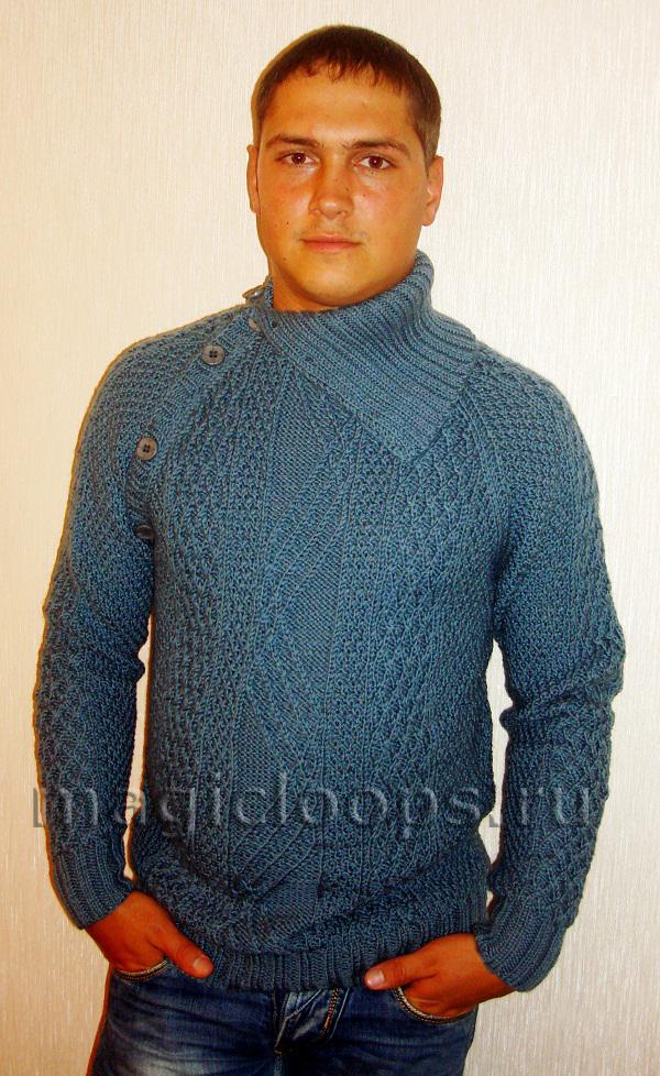 Пуловер с рукавами реглан - копия