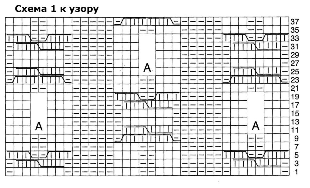 схема 1 к узору 20