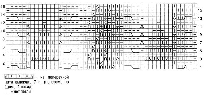 схема к узору 21