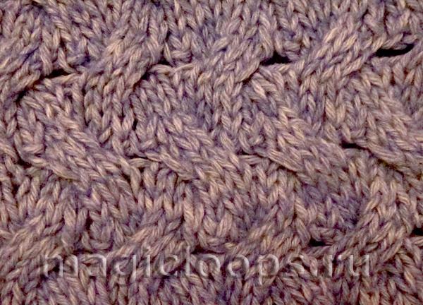 плетенный узор