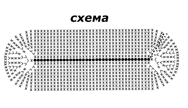 Рюкзачок крючком схемы